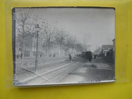 Photo T I V  ,collection Guittet, Tramway Rennes ,Station Du Mail , (derniere Série) - Treni
