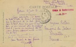 """1921 GRIFFE """" GROUPE DE BOMBARDEMENT DU MAROC """" MEKNES ESCADRILLE 10 - CARTE CP > Versailles Aviation Militaire - Briefe U. Dokumente"""
