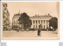 Carte De NANTES Palais De La Bourse Statue De Villebois Mareuil Pharmacie Lefebvre ( Recto Verso ) - Nantes
