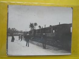 Photo T I V  ,collection Guittet, Tramway Rennes Pour Les Courses ,route De Fougeres ,  (derniere Série) - Treni
