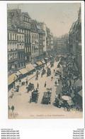 Carte De Paris  Rue Montmartre ( Colorisée )  ( Recto Verso ) - Arrondissement: 18