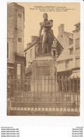 Carte De Condé Sur Noireau Statue De Dumont D' Urville ( Recto Verso ) - Autres Communes