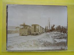 Photo T I V  ,collection Guittet, Croisement De Tramways Rennes ,halte De L'hippodrome ,  (derniere Série) - Treni