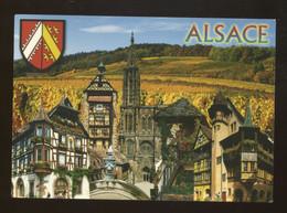 (Alsace) : Kaysersberg, Riquewihr, Strasbourg, Eguisheim, Colmar - Alsace