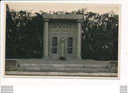 CARTE PHOTO  D' Annay  Le Monument Aux Morts ( Environs De Pouilly Sur Loire ) ( Recto Verso ) - Other Municipalities