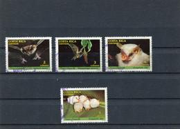 COSTA RICA 1986 BATS USED/CTO - Costa Rica
