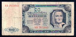 329-Pologne 20 Zlotych 1948 KB767 - Polen