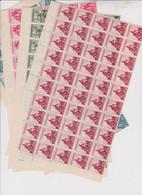 SLOVAKIA WW II 1941 Set Nice Accumulation 50 Sets MNH - Cartas