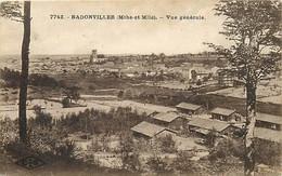 Ref 630- Meurthe Et Moselle - Badonviller - Vue Generale - - Other Municipalities