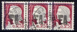 """ALGERIE - 355° - MARIANNE / SURCHARGE """"EA"""" AVEC TAMPON MANUEL - Algeria (1962-...)"""
