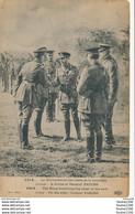 Carte Militaire Le Roi Recevant Les Chefs De La Nouvelle Armée à Droite Le Général Pators ( Recto Verso ) - Personnages