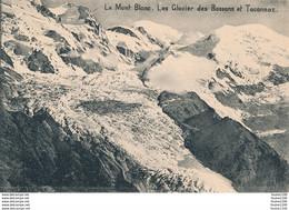 Carte Le Mont Blanc Les Glaciers Des Bossons Et Taconnaz  ( Recto Verso ) - Unclassified