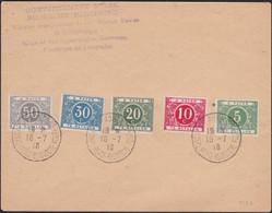 Congo .   OBP  .    TX 12/16 Op Brief   (2  Scans)    .   O    .    Gebruikt  .  / .   Oblitéré - Lettere