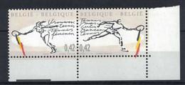 COB / OBP 3054A ** Tennis Masculin Et Féminin  / Beelddoorloper - Unused Stamps