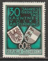 Autriche N° 788 * - 1945-60 Unused Stamps
