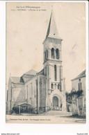 Carte De PAYRAC  L'église Et La Halle ( Recto Verso ) état Moyen - Altri Comuni