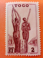 TOGO - R.F. (ex-colonie) - Timbre 1941 : Traditions - Pilage Du Mil - Nuovi