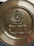 Luxembourg, Assiette, 75me Anniversaire Amis De La Fleur Bettembourg. 1922-1997 - Altri