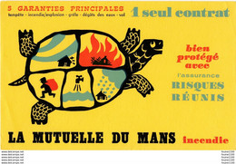BUVARD Assurance La Mutuelle Du Mans ( Tortue ) - Bank & Insurance