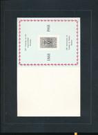 BELGIQUE BELGIUM LUXE SHEET COB LX 53 - Hojas De Lujo