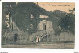 Carte D' HENDAYE PLAGE Le Bureau De Poste   ( Recto Verso ) - Hendaye