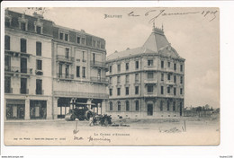 BELFORT La Caisse D'épargne ( Banque ) ( Rouleau Compresseur / Cylindre ) Les Feuillets Se Décollent Sur Les Coins - Belfort - Ciudad