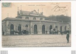 Carte De Versailles  Gare Des Chantiers   ( Recto Verso ) - Versailles