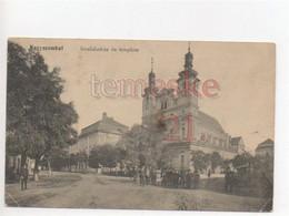 Nagyszombat  Trnava  Tyrnau Invalidusház és Templom - Slovakia