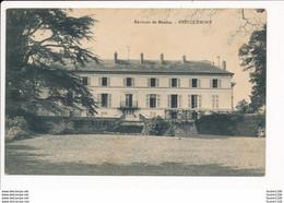 Carte Des Environs De Meulan EVECQUEMONT  ( Château Ou Maison Bourgeoise ) - Other Municipalities