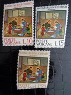 VATICAN 1964 UNIFICATO N° 397 à 399 ** - NATALE S. ROTOCALCO - Ongebruikt