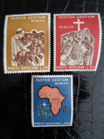 VATICAN 1969 UNIFICATO N° 473 à 475 ** - VIAGGIO DI PAOLO VI IN AFRICA - Ongebruikt