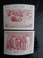 VATICAN 1976 UNIFICATO N° 593 & 594 ** - 4e CENTENARIO DELLA MORTE DI TIZIANO VECELLIO - Ongebruikt