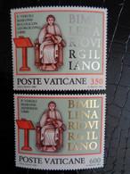 VATICAN 1981 UNIFICATO N° 688 & 689 ** - BIMILLENARIO VIRGILLANO - Ongebruikt