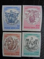 VATICAN 1983 UNIFICATO N° 731 à 734 ** - 4e CENTENARIO DELLA NASCITA DI RAFFAELO SANZIO - Ongebruikt