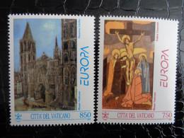 VATICAN 1993 UNIFICATO N° 971 & 972 ** - EUROPA - Ongebruikt