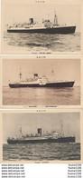 LOT DE 3 CARTES DE PAQUEBOT Sidi Bel Abbes Florida Sidi Okba Sidi Mabrouk ( S.G.T.M. ) ( Recto Verso ) - Steamers