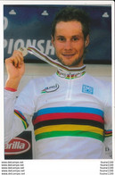 Carte ( Format 15 X 10,5 Cm ) Cyclisme  Tom Boonen - Wielrennen