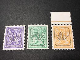 PRE804P5/810/814.MNH. 1984/85. Epacar Papier. - Typo Precancels 1967-85 (New Numerals)