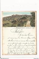 Carte Précurseur Année 1897 De MADAGASCAR - ANTANANARIVO Au Format 11,5 X 9 Cm Avec La Rigidité D'une Carte Postale - Madagaskar
