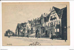 Carte De CREFELD ( Krefeld ? ) Au Dos Cachet Militaire 12e Régiment D'artillerie Postes Militaires Belgique - Krefeld