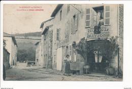 Carte De SAINT BONNET LE TRONCY  Hôtel Longère ( Recto Verso ) - Autres Communes
