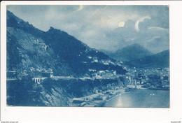 Carte De SALERNO  Panorama   ( Recto Verso ) - Salerno
