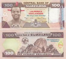 Swaziland - 100 Emalangeni 2008 UNC P. 34 Commemorative Lemberg-Zp - Swaziland