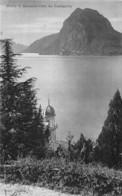 Monte S. Salvatore Visto Da Castagnola 1907 - Other