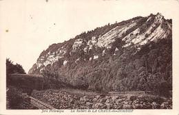 La Chaux Du Dombief Canton Saint Laurent En Grandvaux Rails Tramway Pic De L'Aigle Tampon Colonie Castel-Condat - Altri Comuni