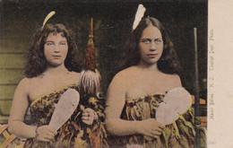 MAORI BELLES. WOMEN FEMMES. TOURIST DEPT PHOTO. NEW ZEALAND POST-CARD. NOT CIRCULATED.- LILHU - New Zealand