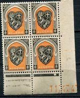 ALGERIE N°255 ** EN BLOC DE 4 DATE DU 11-4-47 - Unused Stamps