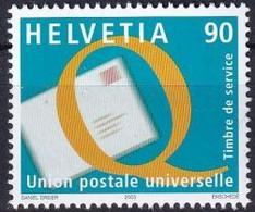 SCHWEIZ 2003 Mi-Nr. UPU 19 ** MNH - Dienstpost