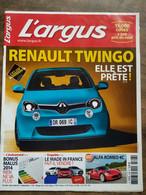 L'argus - Renault Twingo : Elle Est Prête! / Octobre 2013 - Zonder Classificatie