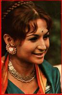 00495 Helen India Indian Necklace Earrings Actor Actress Actor Actress Movie Actor Actress Film 1975 USSR Soviet Card - Acteurs